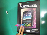 Wholesale Clear Transparent LCD Screen protector film protective Guard for Apple Ipad nd rd G G