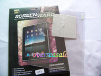 Wholesale Top Clear Transparent LCD Screen protector film protective Guard Protectors for Ipad3 Ipad nd rd th