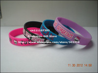 Wholesale Monster High Wristband Silicon Bracelet Printed Band Youth Size