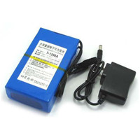 Wholesale 9800mAh V DC power Rechargeable Li ion battery For CCTV Camera