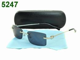 Una visión superior en venta-entrega rápida caliente gafas sin montura de gafas de marca para hombre de la parte superior de la lente de cuidado de la vista de la calidad de la mezcla capaz de cualquier modelo