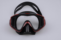 Wholesale Sturgeon Dragon diving mask M208S Silecone mask black black with red black with blue FAMOUS BRAND