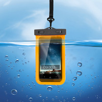 bag operations - Swimming PVC transparent waterproof bag The water can touch mobile underwater camera operation drifting practical waterproof