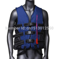 adult life jacket xxl - Adult Life Jacket Vest PFD Fully Enclose Foam Boating Water Fishing Safety Jackets Colete Salva Vidas With Whistle Size L XL XXL