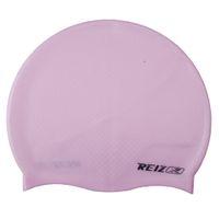 adult hair gel - REIZ Unisex Adult amp children particles Swimming cap waterproof hair care pure silica gel colors