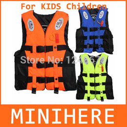 Wholesale-Outdoor Life Vest Life Jacket Professional Swimwear Swimming Fishing Water Sport Life Vests Clothes For Kids Children Baby