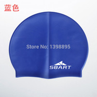 arena swim caps - SBART silicone swimming cap women men gorras hat arena swimming accessories for swimming scuba diving