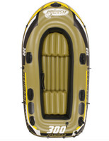 air boat seats - Jilong adult child preson inflatable fishing boat PVC air kayak cm include two seat a pair of oars hand pump
