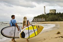 Envío al por mayor libre Junta Schlepper Stand Up Paddle Board Llevar correas sup bordo cabestrillo desde venta al por mayor de pie bordo fabricantes