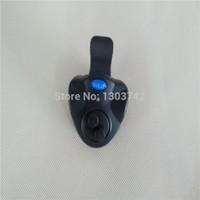 dc electronic meter - Portable Electronic Sonar Fish Sounder Bite Finder Alarm LED Light Alert Bell Fishfinder Clip On Fishing Rod