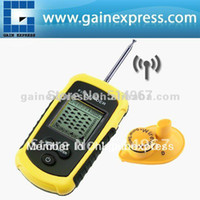 Wholesale LUCKY Wireless Sonar Fish Finder Portable Alarm M Meter Wireless Meter Feet Depth Range