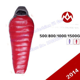 Wholesale AEGISMAX AEGIPAN Professional supersoft outdoor White Duck Down winter mummy type sleeping bag