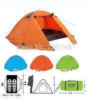 Wholesale High Quality New Tents person Outdoor Camping Equipment Waterproof Double Layer Dome Aluminum pole Camping Tent FLYTOP