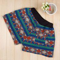 angora pants - Spring amp Autumn High Waist Shorts Angora Blend Floral Print Short Pants