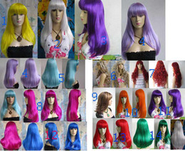 Wholesale Mix Wig Smashing synthetic women s healthy wig wigs Costume Wigs Hair Wigs