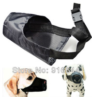 bark color - Adjustable Safety Dog Muzzle Black Color Small Medium Large Training Pet Mouth Grooming No Bark Bite