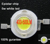 Wholesale Epistar chip W led white w High power LED chip super bright LM White led lamp led gu10 w