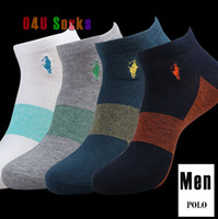 Wholesale New Meias Socks Men Brand Polo Sport Casual Cotton Socks Skateboard Masculinas Elite Socks Athletic Sox pair
