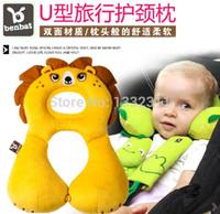 baby wedge pillows - New benbat month year baby kid Children s neck pillow car safety travel hotel U shape pillow