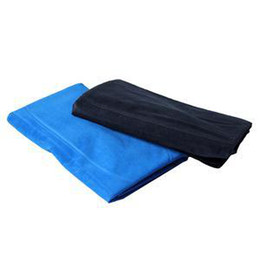 Wholesale New Double Sided Flocking Travel Pillow Cushion Rectangle Shape Air Inflatable Plane Body Camping Picnic Pillows