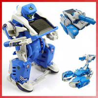 Wholesale 11067 Selling by in1 Solar Toy Robot Tank DIY Educational Assembly Kit