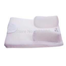 Wholesale Baby Care Infant Pillow Sleep Fixed System Waist Support Prevent Flat Head Safe Cotton Anti Roll Pillow Sleep Positioner