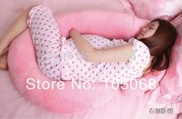 adult breast feeding - Hot Pregnant Pillow Protecting Waist Side lying Assisting Breast feeding Part Mother Mama Sleeping Comfort Pregnancy Pillow
