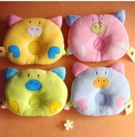 baby corrective - Cartoon baby to finalize the design pillow shape Newborn baby pillow corrective slant head