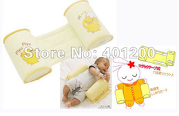 Wholesale yellow baby pillow Sleep Head Pillow Anti Roll Pillow CM XC
