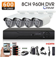 Wholesale channel h cctv dvr with TVL Day and Night Security Camera DVR video recording system hdmi p NVR DVR onvif