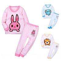 apparel for kids baby - Kids Winter Apparel Children Thermal Sleepwear Unisex Baby Underwear Pajama Sets Long Johns for Girls1t t
