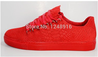 Wholesale BL Arena Brand Trainers Rouge Braise Men s High top Sneakers Lace up West Fashion Shoes tenis masculino