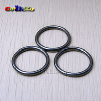 metal o rings - Pack quot mm Metal O Rings O Ring Non Welded Black Nickel Plated FLQ067 B