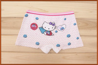 age kittens - children underwear cute kitten cartoon print briefs girl cotton panties kids boxer ages