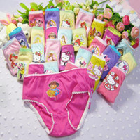Wholesale New Fashion Cartoon Girls underwear panties baby underwear calcinha menina cartoon print briefs girl cotton panties