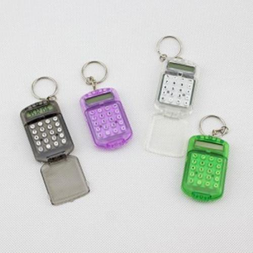 Wholesale-Ingenues mini keychain calculator key chain small gifts small gift toy Free shipping