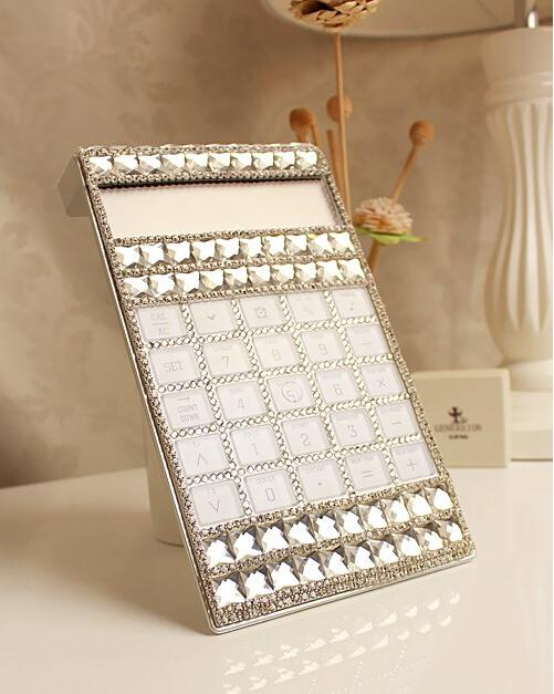 Wholesale-GIMI Hot Sale ! handmade BulingBuling crystal and glass drill rhinestone calculator free shipping