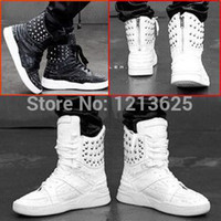 justin boots - boots rivets high top shoes hip hop shoes justin bieber japanned leather boots