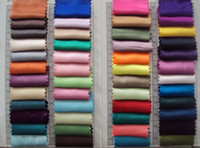 Wholesale elastic satin material color chart Colour
