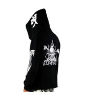 bass clothing - Fashion Agent Bass Clothing Sports Skull Sweatshirt Hooded Thick Warm Hoodie With Velvet For Men and Women AY298