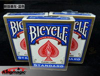 bicycle cards standard - Bicycle Rider Back Standard Playing Cards Red or Blue Christmas magic tricks
