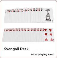 atom paper - ITmagic Svengali Deck atom playing card magic tricks close up street magic tricks