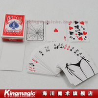 best poker sets - Set Deck Bicycle Different Kinds Of Bicycle Pokers Best Quality Strange Magic Magic Toy Magic Trick Card Sets Novelty Items