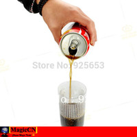 airborne magic trick - Cola In the Air Floating Coke airborne coke can close up street stage Magic tricks magie magia
