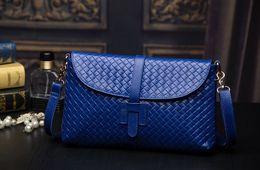 Wholesale Best Genuine Women Leather Handbags Fashion Casual Plaid Female Brand Shoulder Messenger Cosmetic Bag