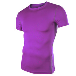 Wholesale Mens Boys Compression Armour Base Layer Short Sleeve Thermal Under Top T Shirt New