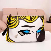 belle handbag - Chain shoulder bag tote bag vintage cosmetic bag of belle print women s cross body handbag