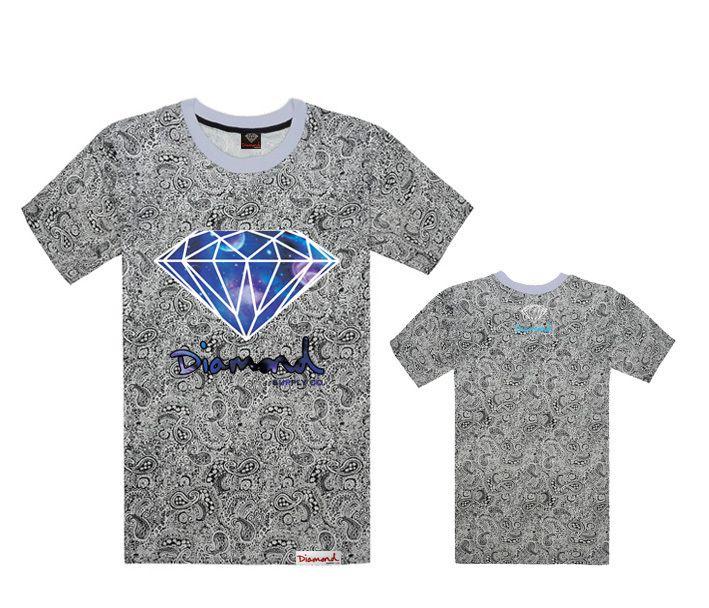 Wholesale brand t shirt diamond supply co men 39 s t shirts for Wholesale diamond supply co shirts
