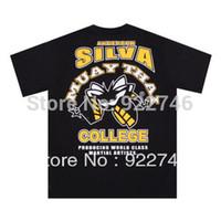 anderson sport shirts - MMA Anderson Silva Spider T shirt Sports T shirt Fitness T shirt