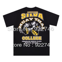 anderson silva t shirt - MMA Anderson Silva Spider T shirt Sports T shirt Fitness T shirt